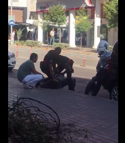 Polisin gözaltına alma şekline, vatandaş tepkisi