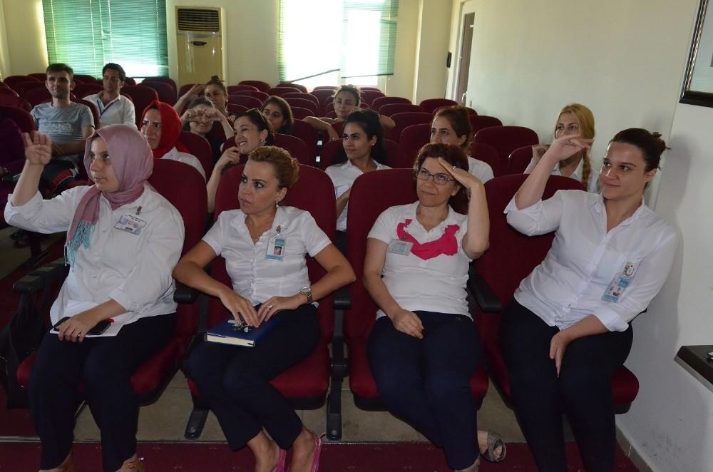 Sağlık personellerine işaret dili eğitimi