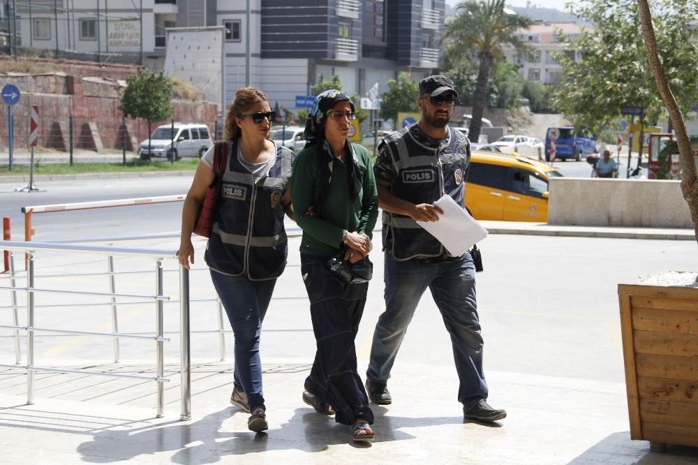 Terör örgütü üyesi kadın tutuklandı
