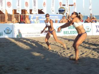 TVF Pro Beach Tour 2017 Plaj Voleybolu görüntüleri