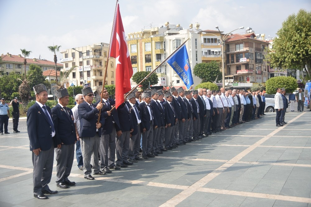Alanya'da 19 Eylül Gaziler Günü