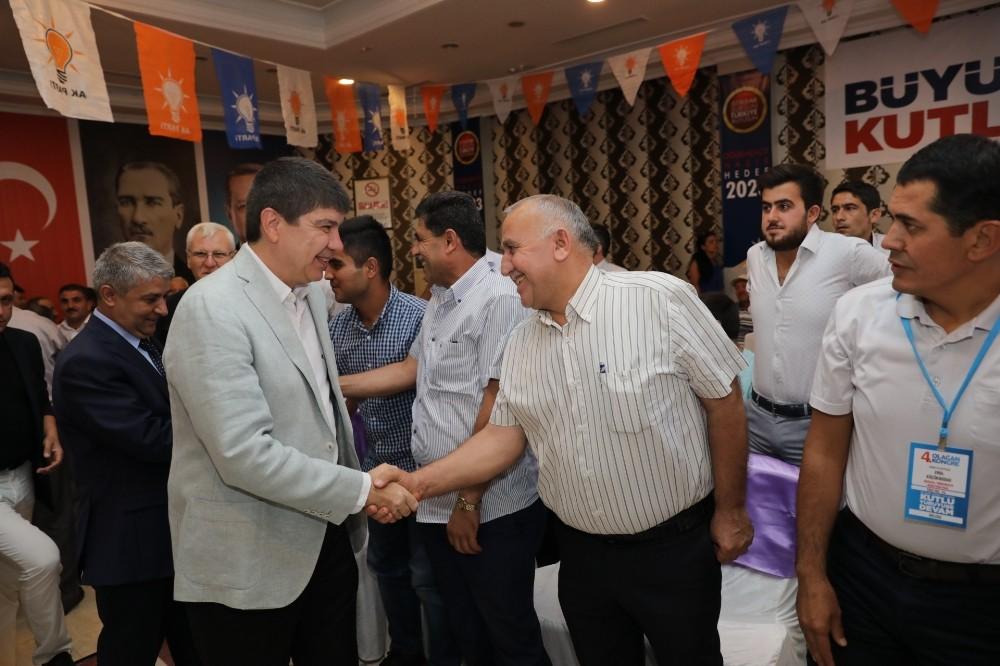 AK Parti Döşemealtı 4. Olağan İlçe Kongresi