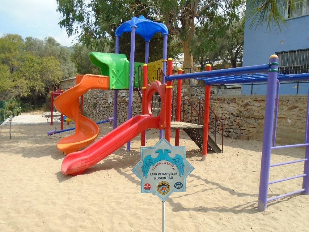 Alanya Belediyesi 2 yeni park açtı