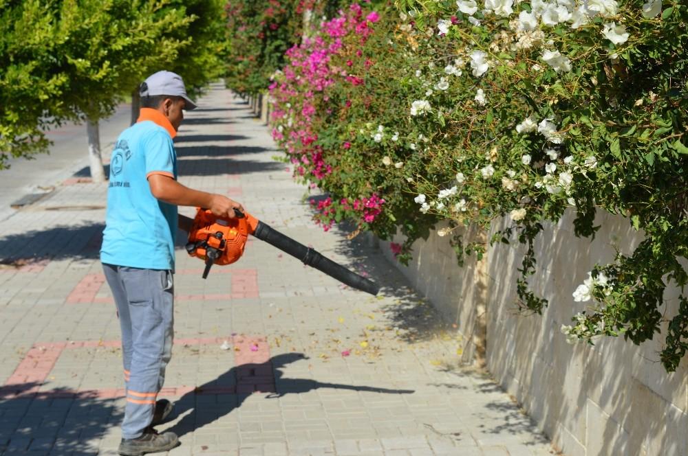 Alanya Belediyesi Temizlik İşlerinden Kurban Bayramı temizliği