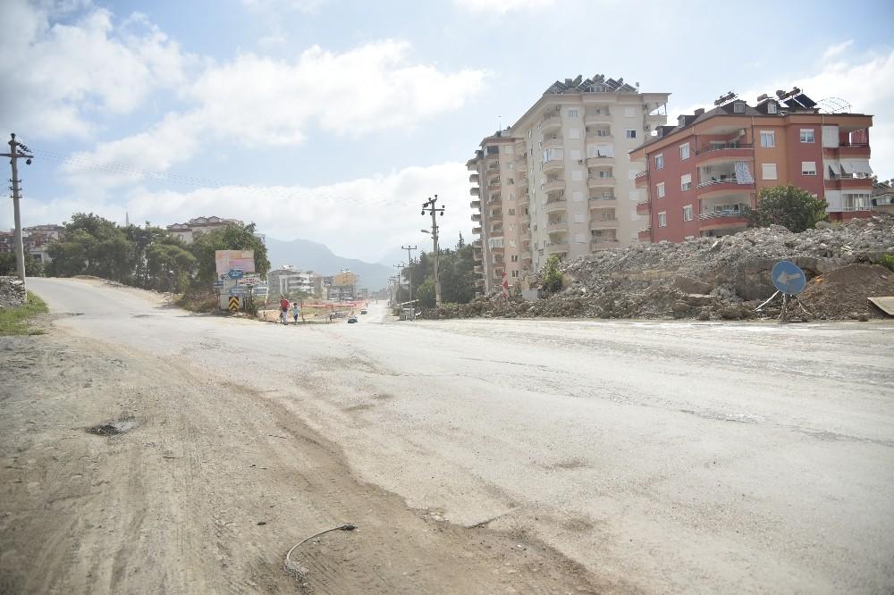 Alanya Hacıbaba Caddesi trafiğe kapatılıyor