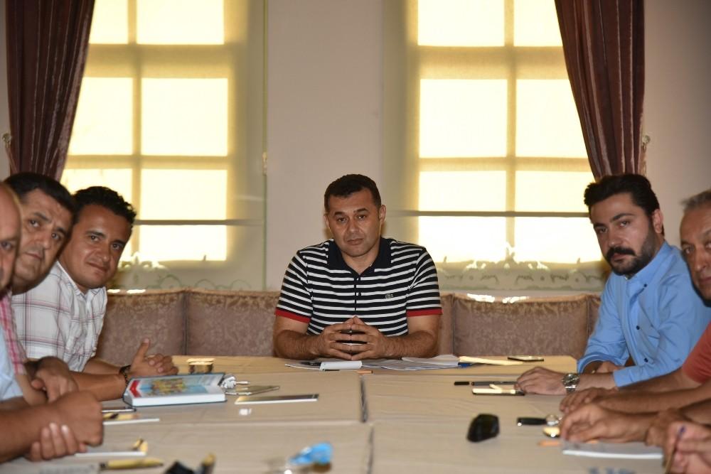 Alanya'da meclis kararıyla oluşturulan komisyonlar toplandı