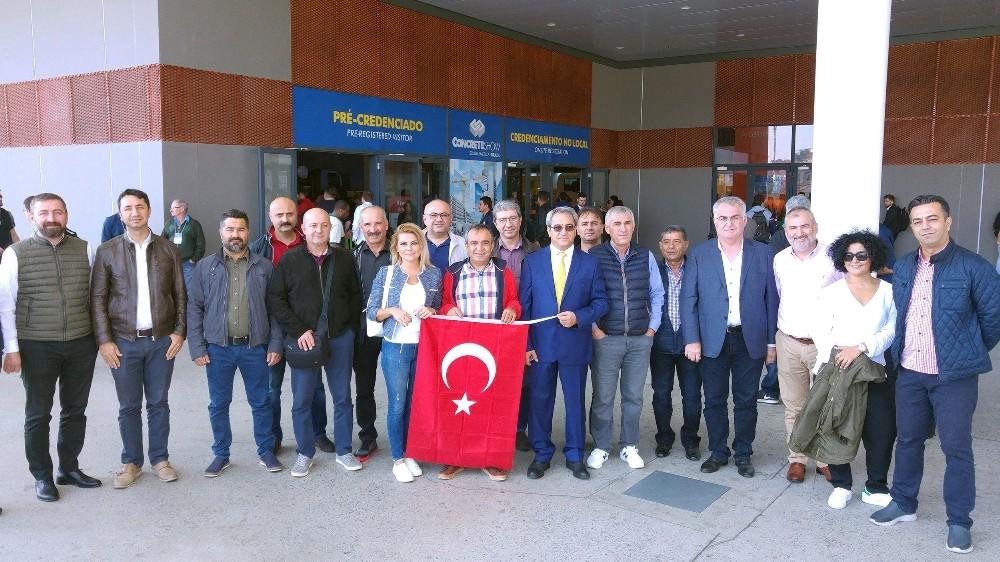 Antalya OSB sanayicileri Brezilya'da