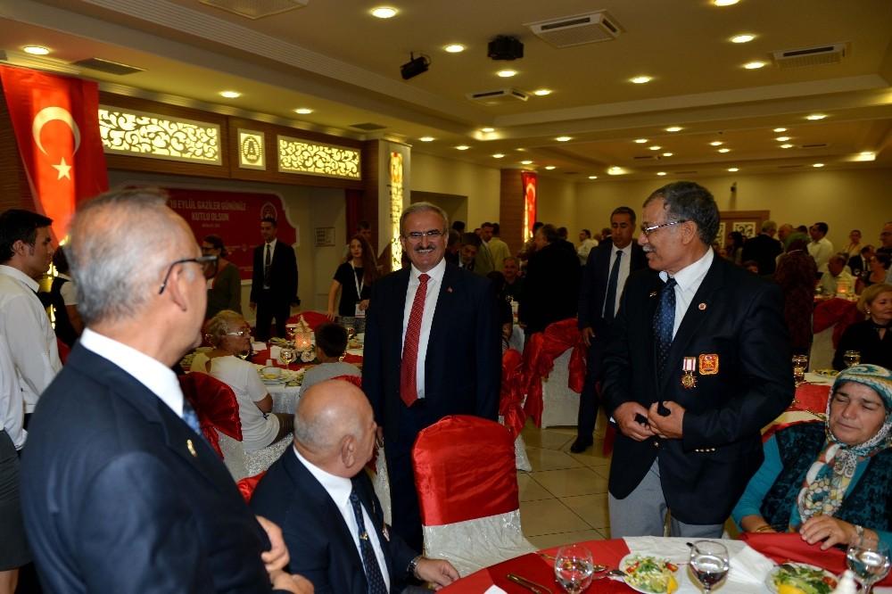Antalya'da Gaziler ve şehit yakınlarına resepsiyon