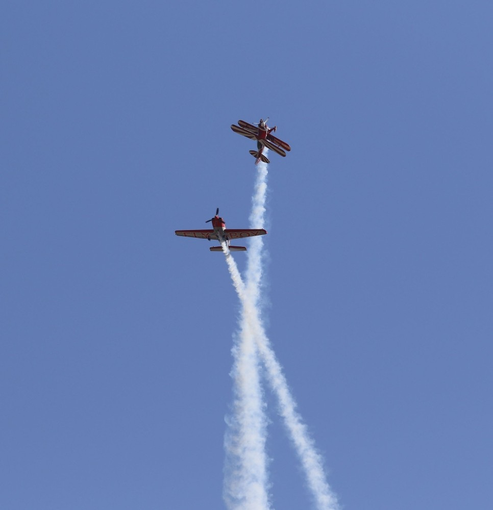 Antalya'da gösteri uçakları nefes kesti Foto galeri