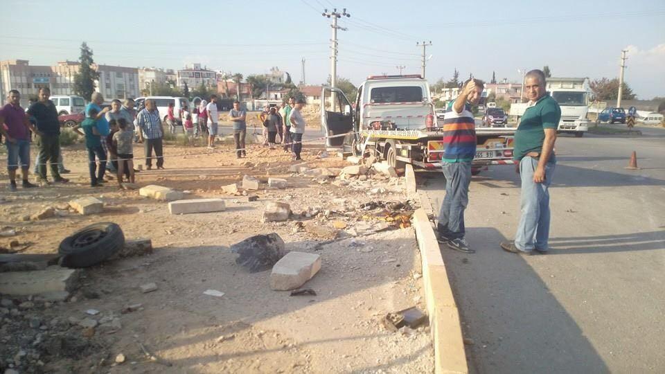 Antalya'da kaza: 1 ölü, 2 yaralı
