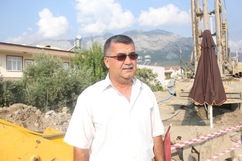 Antalya'da narenciye ve nar için su arayışı