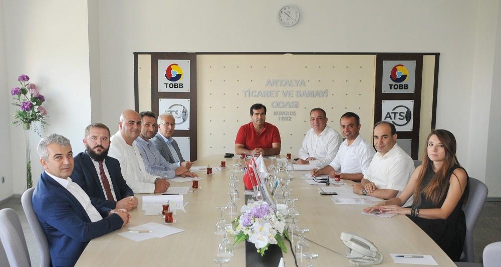 ATSO, Kocaeli Ticaret Odası'nın inşaat sektörü temsilcilerini konuk etti