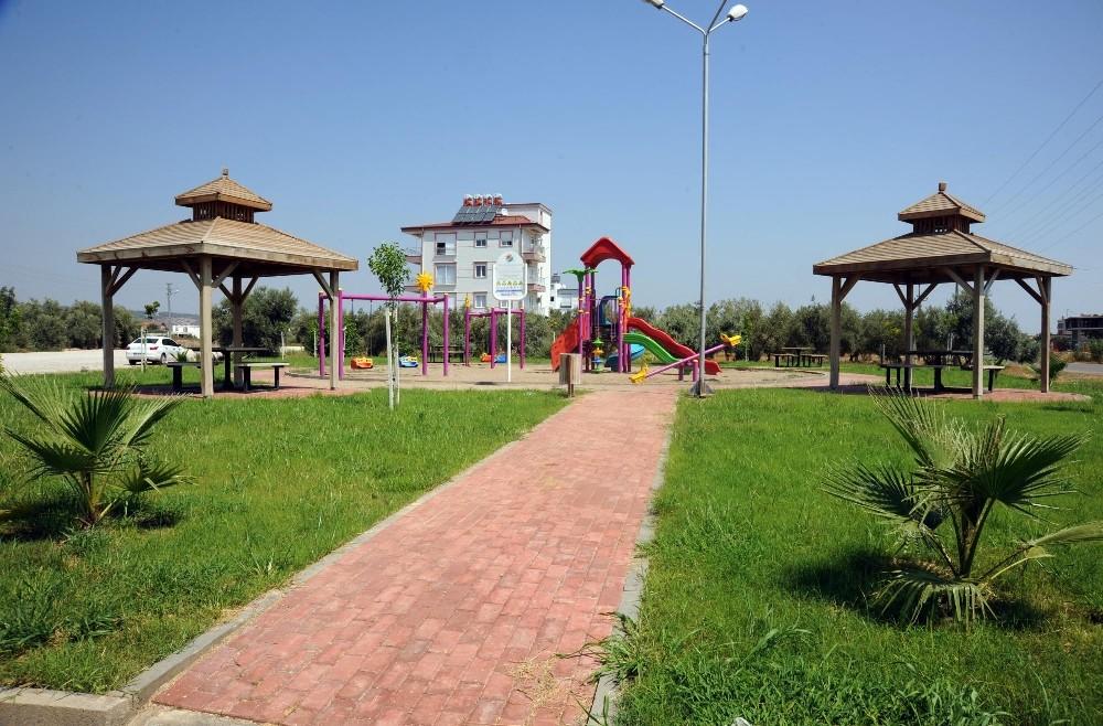 Ayanoğlu Mahallesi'ne yeni semt parkı