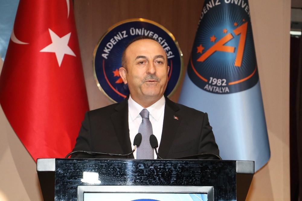 Bakan Çavuşoğlu Akdeniz Üniversitesi akademik yıl açılışına katıldı