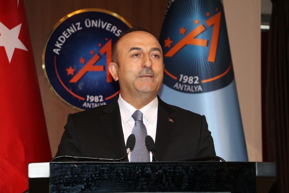 """Dışişleri Bakanı Çavuşoğlu: """"Irak'taki referandum geçersizdir"""""""