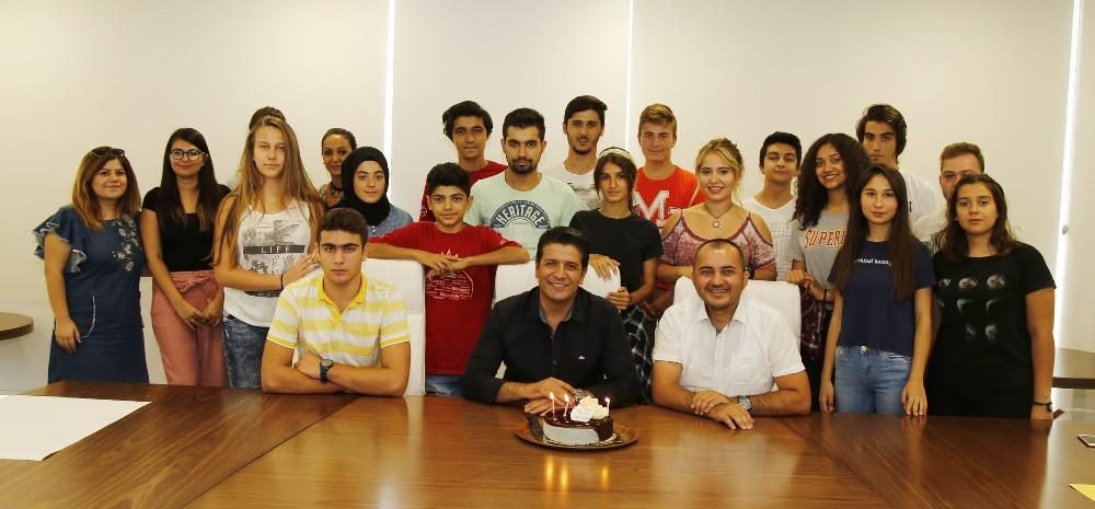 DÖGEM üyelerinden Başkan Genç'e teşekkür