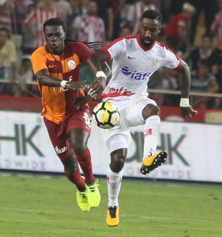 Antalyaspor, sahasında Galatasaray ile 1-1 berabere