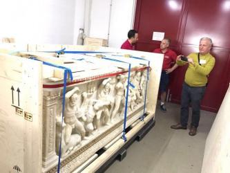 'Herakles Lahdi' evine dönüyor