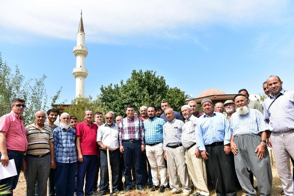Konyalılar Cami'ne ilk kazma