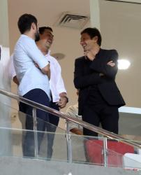 Leonardo, Antalyaspor-Osmanlıspor maçını tribünden izledi