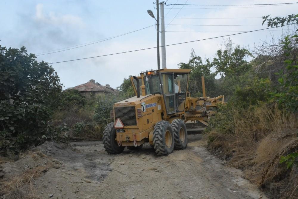 Manavgat Belediyesi'nden Hocalar, Aksaz ve Sülek'te asfalt