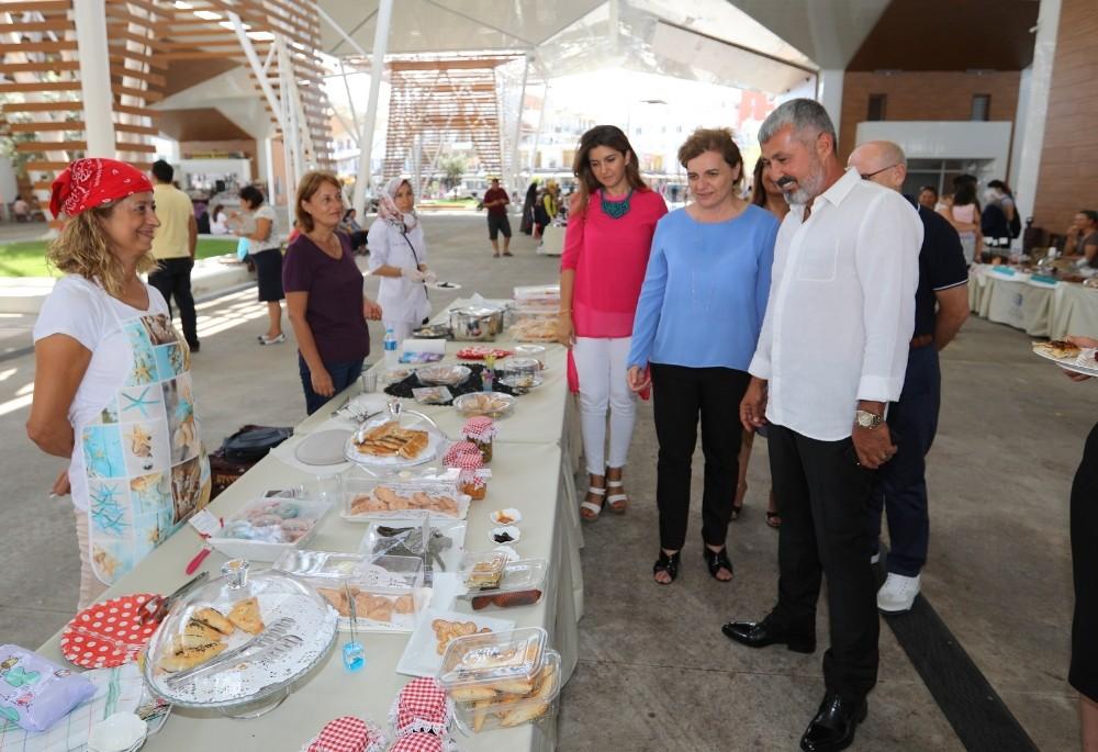 Manavgat'ta Toros Kadınları emek pazarı açılıyor