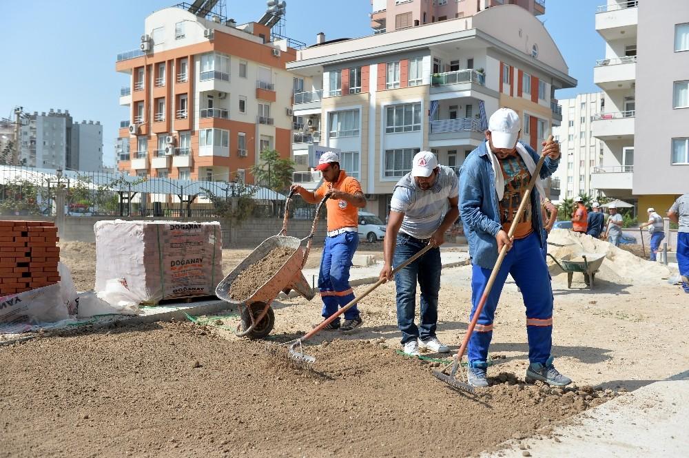 Muratpaşa'da 4 yeni park
