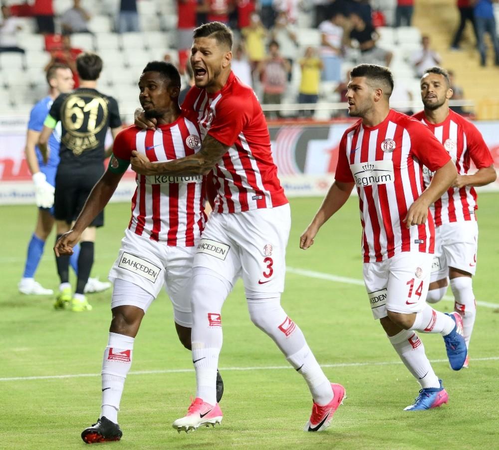 Antalyaspor: 3 – Osmanlıspor: 0 (Maç sonucu)