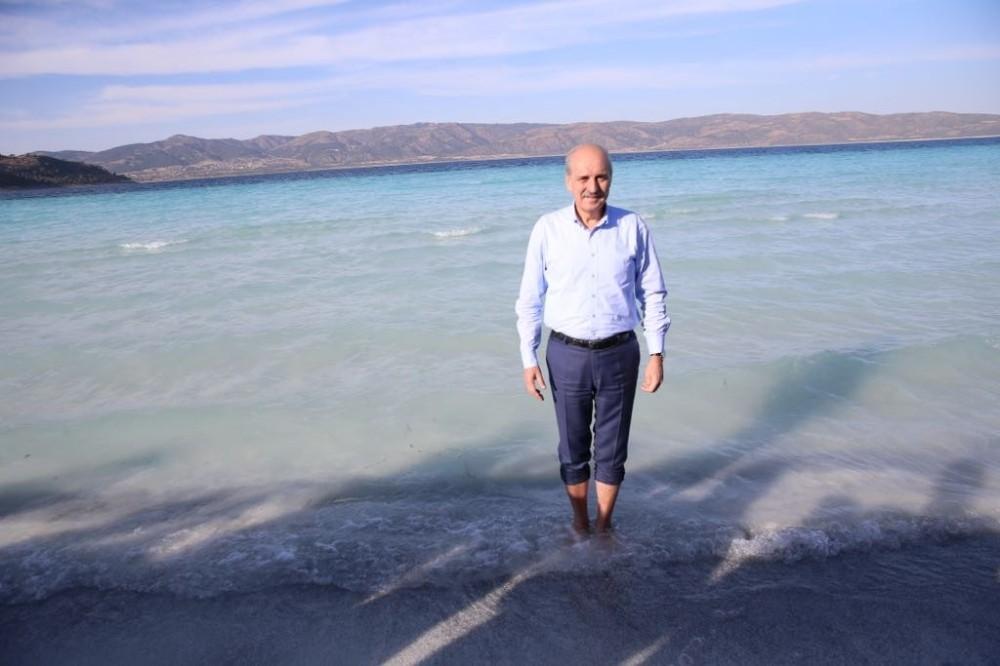 """""""Türkiye'nin Maldivler'i"""" Salda Gölü'ne ilgi artacak"""