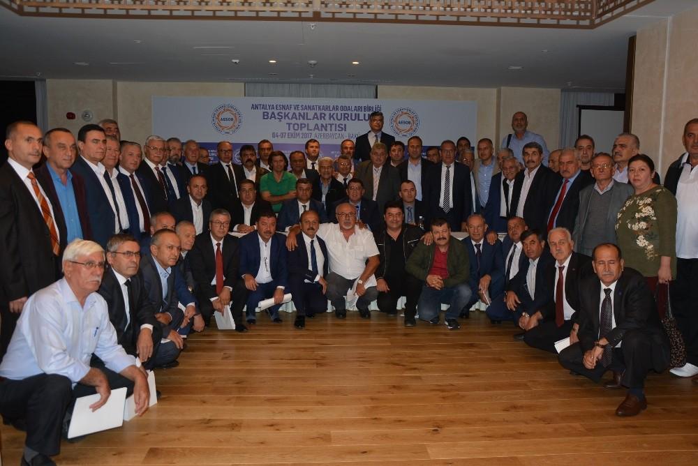 AESOB Başkanlar Kurulu toplantısı