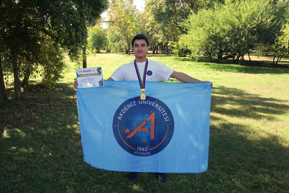 Akdeniz Üniversitesi öğrencisi Avrasya şampiyonu oldu