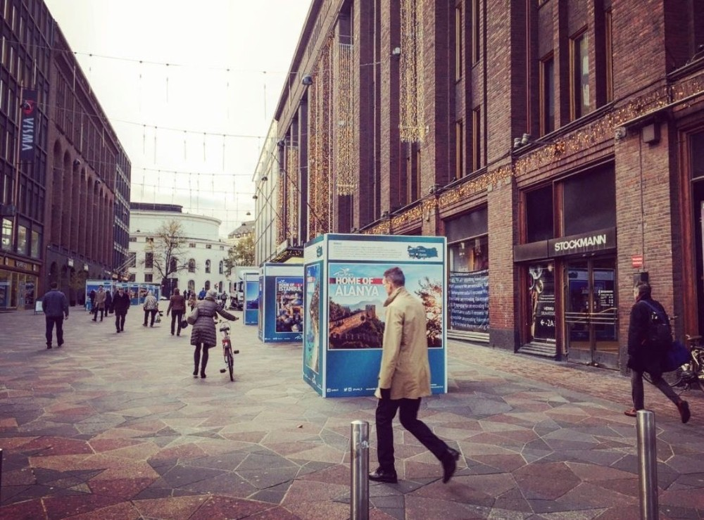 Alanya Helsinki'de sergileniyor