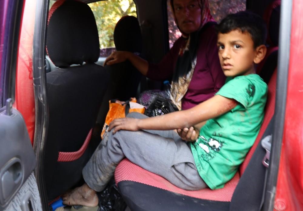 Gazipaşa'da bisiklet süren çocuğa köpek saldırdı