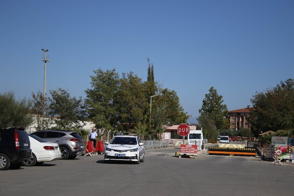 Antalya'da cezaevindeki yangın ihbarı tatbikat çıktı