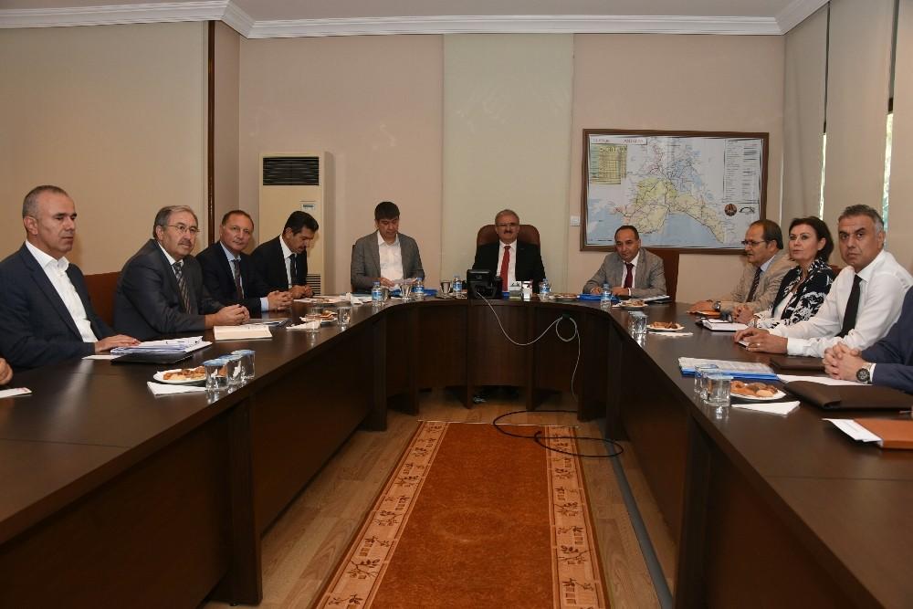 Antalya'da Ulaşım Koordinasyon Toplantısı