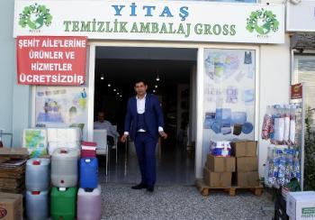 Antalyalı işadamından şehit ailelerinin evine ücretsiz temizlik