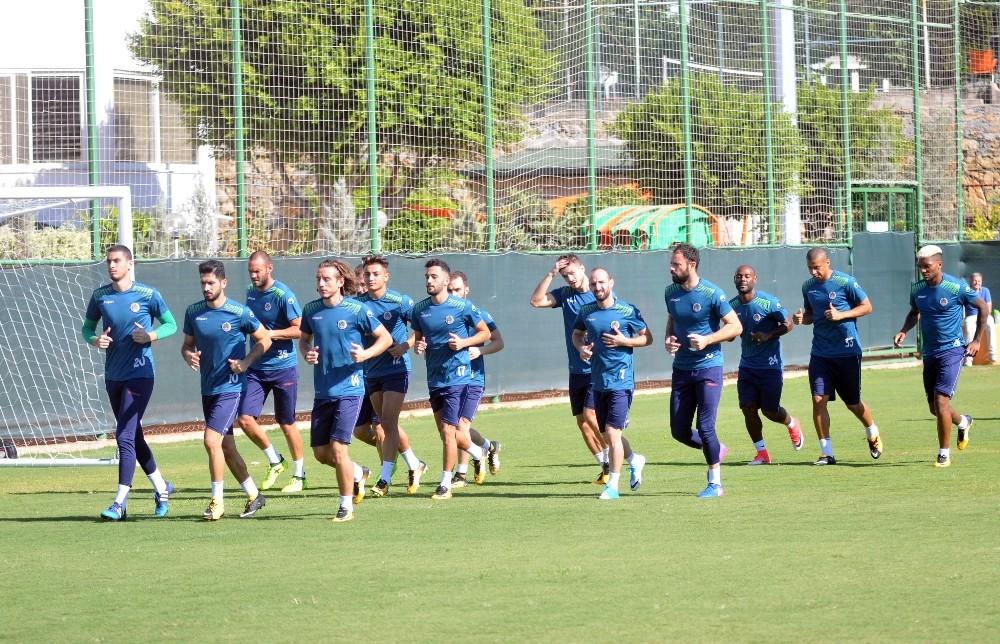 Aytemiz Alanyaspor, Başakşehir maçı hazırlıkları başladı