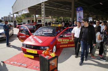Döşemealtı'nda modifiyeli araç festivali
