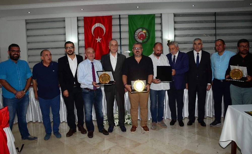 Haber kameramanları Antalya'da bir araya geldi