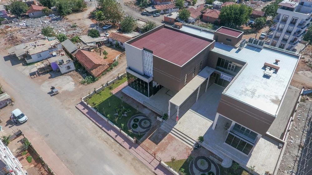 Hacı Bektaş Veli Kültür Merkezi inşaatı tamamlandı