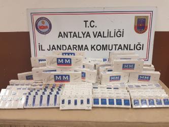 Jandarma'dan kaçak içki, kaçak sigara ve uyuşturucu operasyonu