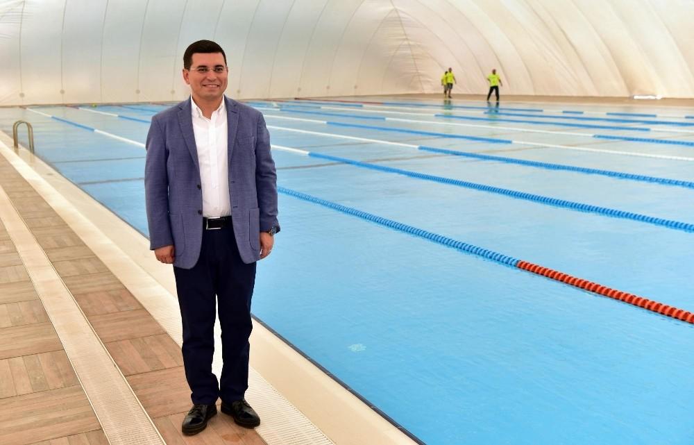 Kepez'de yaz-kış yüzebilecek