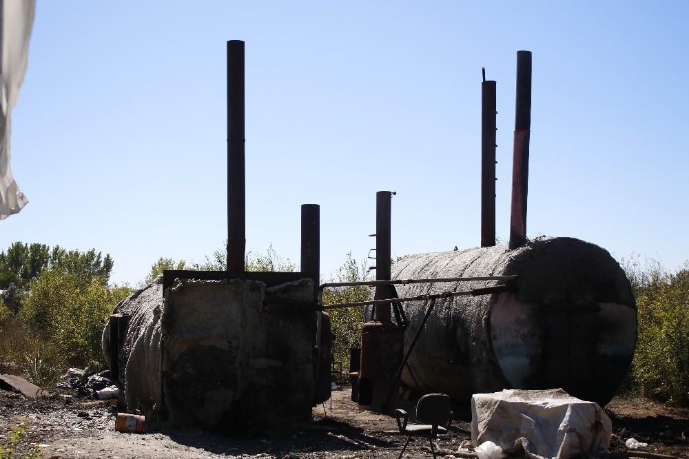 Mangal kömür kazanı patladı, emekli emniyet müdürü öldü