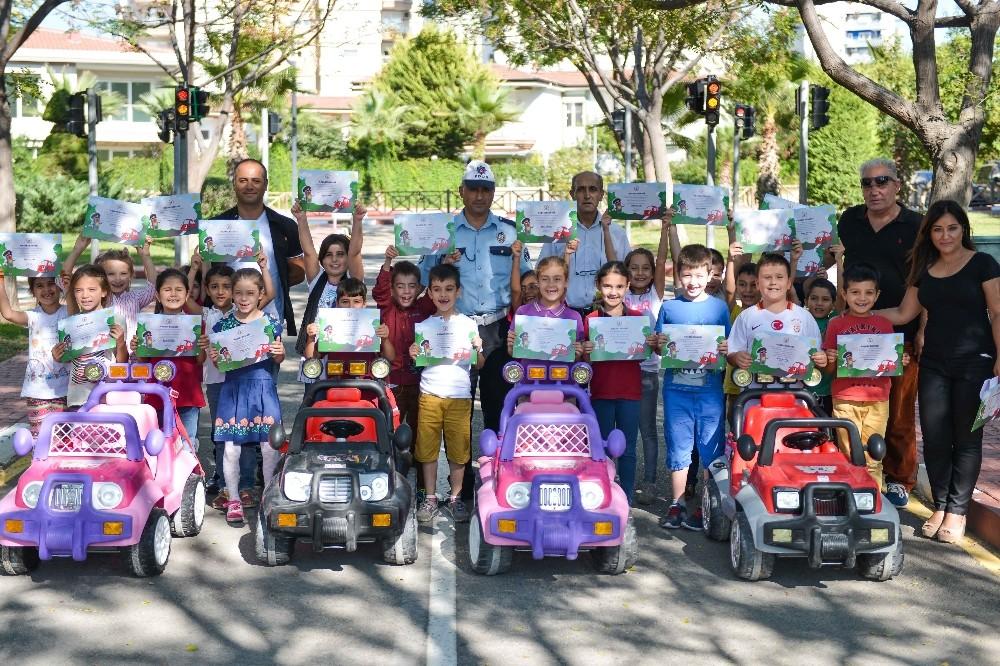 Muratpaşa'da Trafik Parkı'nda eğitime devam