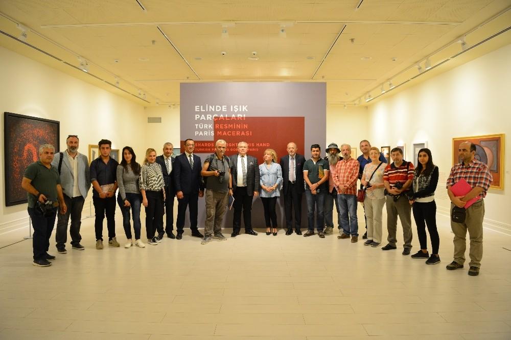 Türk resminin ustaları Antalya Kültür Sanat'ta