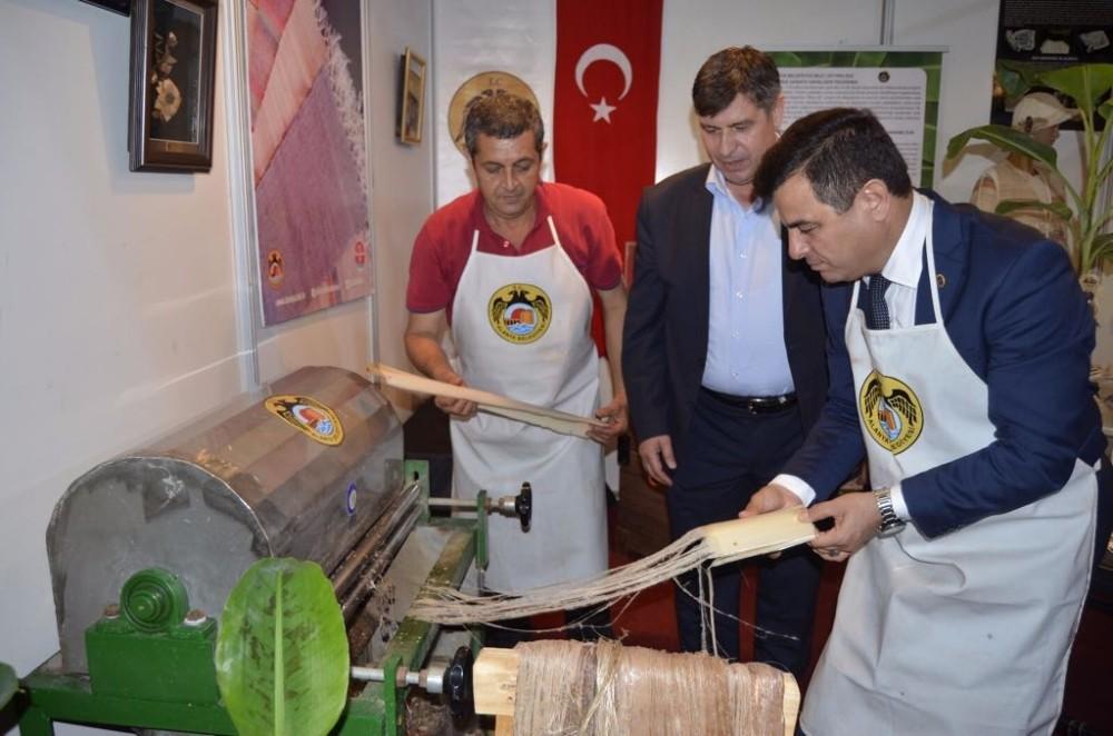 Alanya Belediyesi Anamur Tarım ve Gıda Fuarı'na katıldı