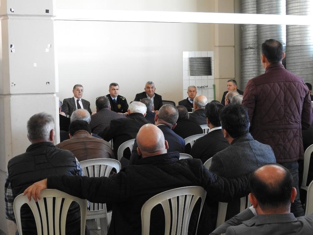 Antalya Emniyeti'nden Hanutçulukla Mücadele Toplantısı