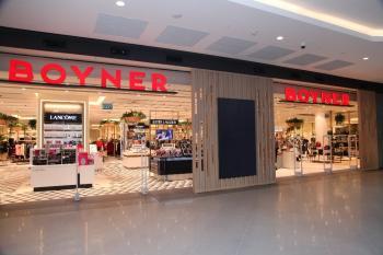 Antalya'da Boyner, yeni konseptiyle açıldı