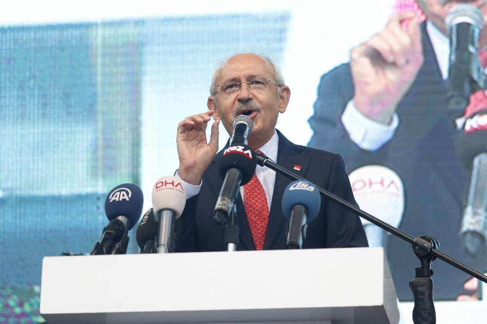 CHP Genel Başkanı Kılıçdaroğlu: her kuruş harcamanın hesabını vatandaşlara vermelerini istedi