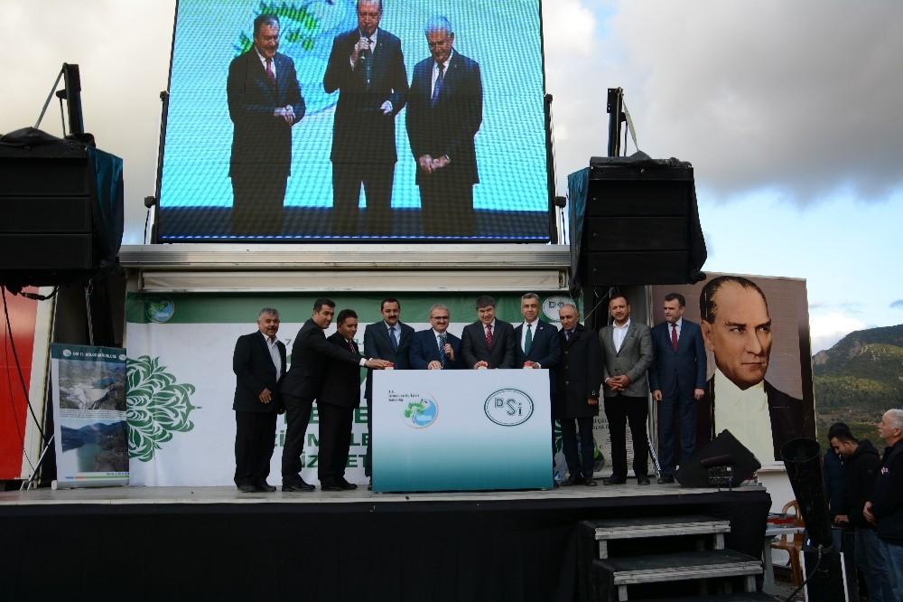 Cumhurbaşkanı Erdoğan, Antalya'da 10 tesisin toplu açılışını yaptı